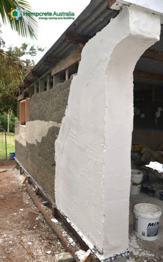 12 lime render first coat